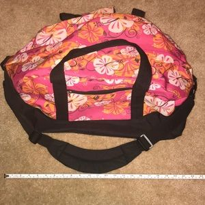 Floral Duffle Bag